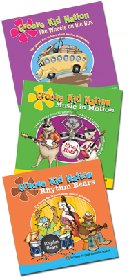 Kids Songs 3 CD Combo
