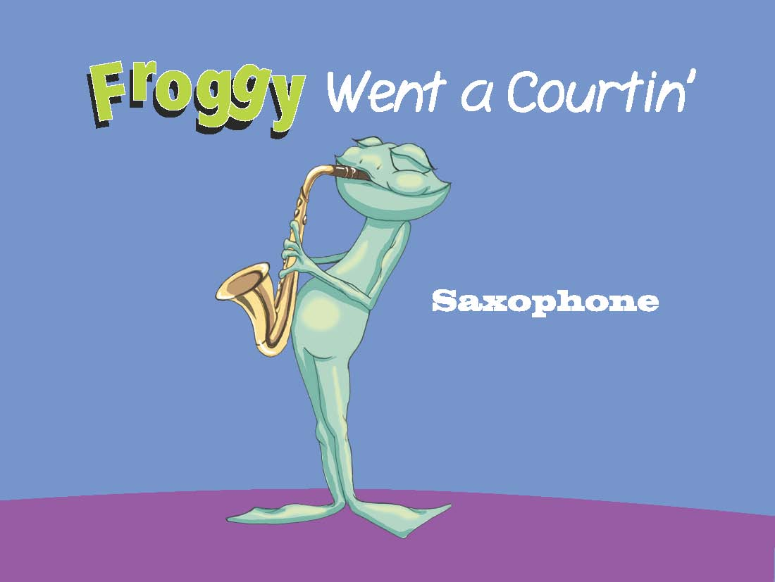 froggy on saxophone - Hip Kid's Songs