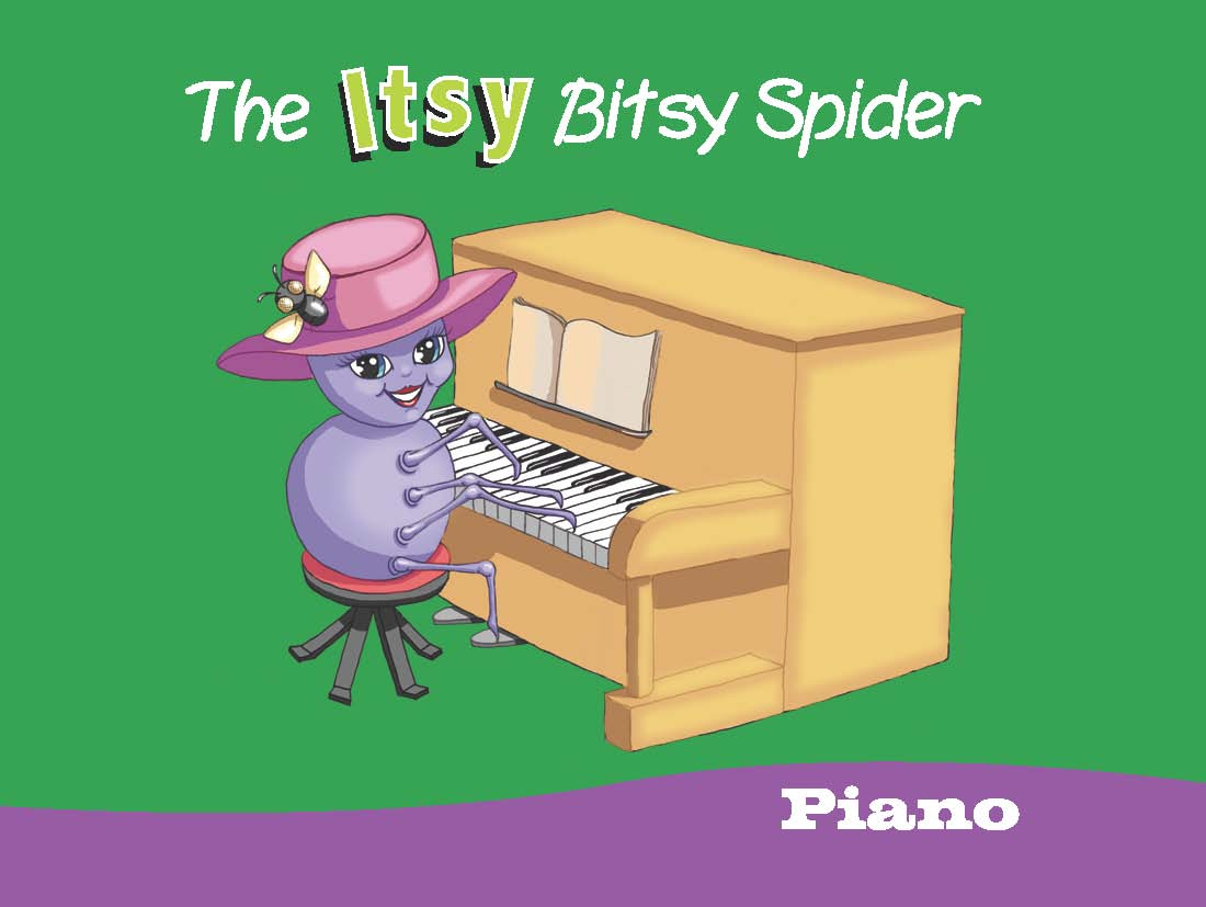 itsy bitsy spider on piano:  Educational Children's Music