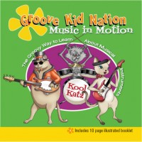 Music in Motion CD Cover -- Childrens Music lesson